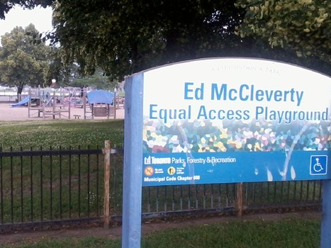 Member's concerns re: Ed McCleverty Equal Access Playground
