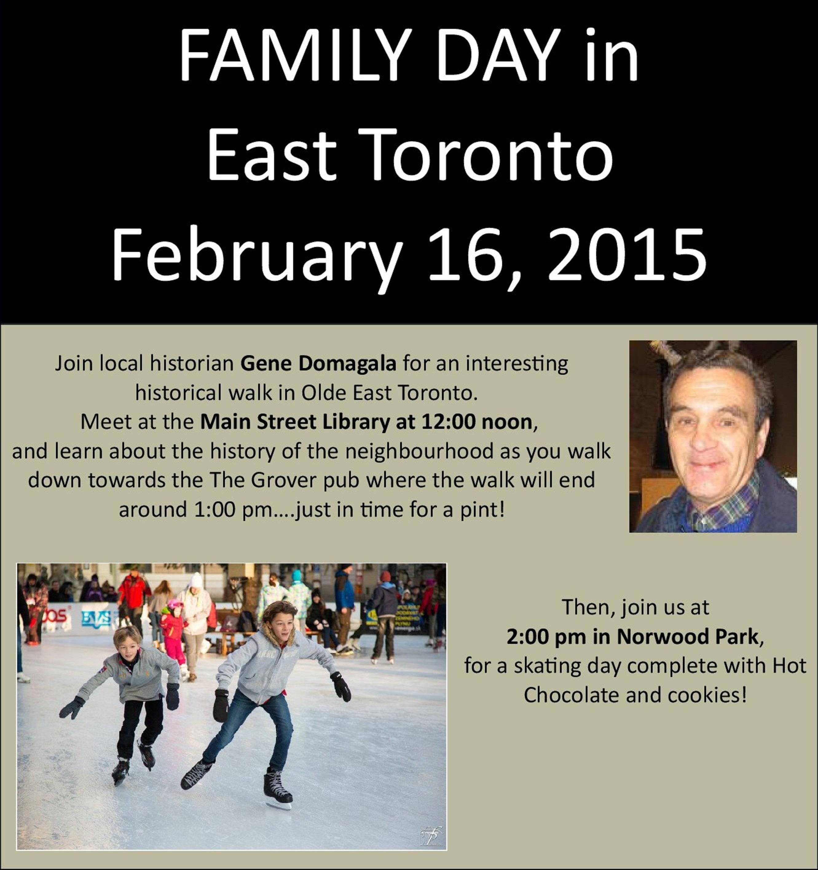 Feb 16 – Family Day