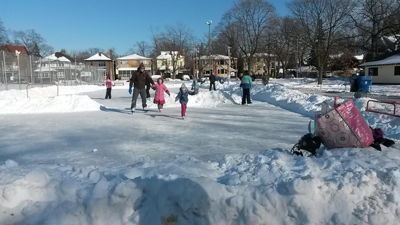 Skating rink!!